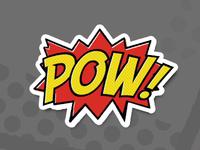 Pow [Sticker Mule]