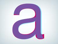 Arial on Helvetica