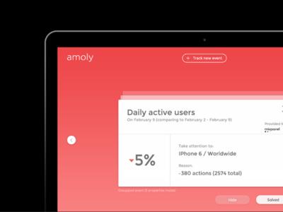 Amoly Analytics Tool