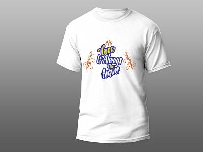 Love T-Shirt Design Contact : muhit2522@gmail.com design typography graphic design