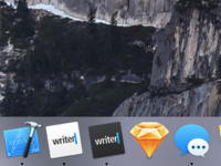 iA Writer Yosemite Icons