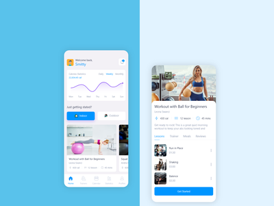 Fitness App Concept app trend fitness concept design uiux design app design health care gym app fitness app being strong good health gymnastics gym health fitness