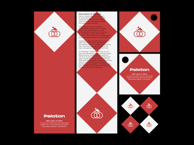 Peloton brand identity brand design brand visual identity corporate design identity ci visual design design logo graphic design corporate identity branding