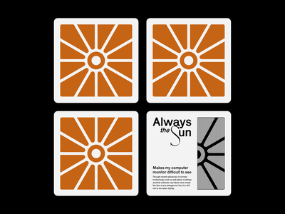 Always the Sun cards sun brand identity illustration brand visual design logo graphic design design corporate identity branding