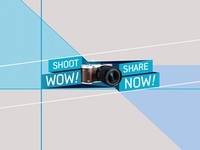 Shoot WOW Share NOW - Campaign Logo
