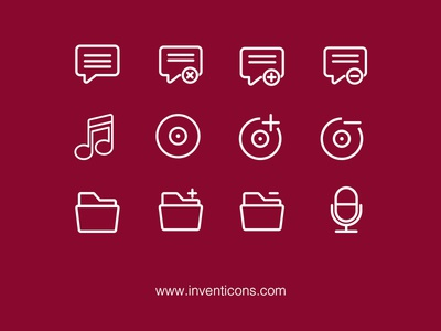 Inventicons free icons vector line ios7 royalty free