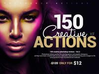 150 Creative Photoshop Actions