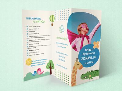 3fold brochure graphic design design