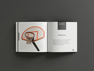 Minimal Origins graphic design coffee table book layout