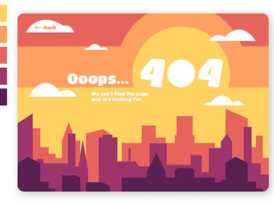 404 Page | Daily UI #008 illustration design ui 008 dailyui