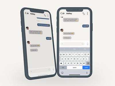 Direct Messaging | Daily UI #013 dm message social media ui 013 dailyui