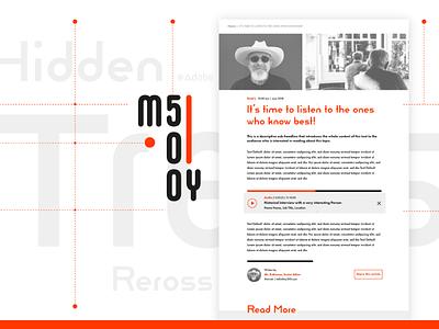 My500 – Adobe Hidden Treasure: Bauhaus editorial free uikit uidesign bauhaus hiddentreasure adobexd adobe ux ui