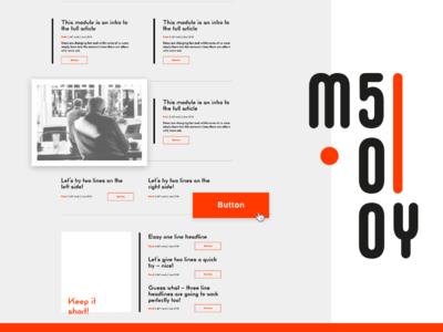 My500 – Adobe XD Ui-kit