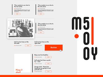 My500 – Adobe XD Ui-kit typography app black editorial uiux ui uikit adobehiddentreasures bauhaus adobe adobexd