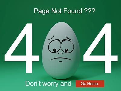 404 page ui design illustration typography