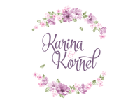 Karina & Kornel wedding logo