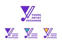 Young Artist Exchange Logo Design
