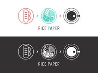Rice Paper Logo Design
