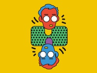 Keith Haring Illustration