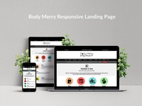 Body Merry Responsive Landing Page