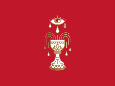 chalice mark logo illustration wine eye all-seeing school old
