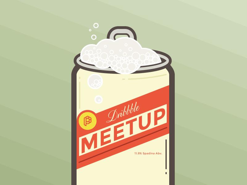 Dribbble Meetup - May 8th (Toronto) dribbble meetup beer challenge