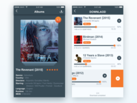 Movie App Interface Oscar Collection Ui-2