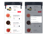 Recipe Fruits Interface debuts