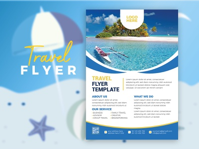 Travel Flyer Design Template banner company brand identity business marketing corporate flyer template corporate flyer print item print travel business flyer template business flyer travel agency travel brochure brochure flyers flyer design flyer travel flyer travel flyer design template
