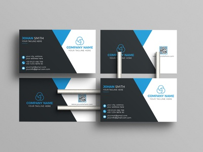 Corporate Business Card Design Template By Graphic Panda banner graphic panda minimal stationary visiting card name card corporate business minimalist business card unique business card 2022 business card modern business card luxury business card professional business card corporate business card business cards business card design business card design brand identity
