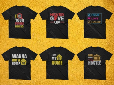 Real Estate T Shart Design By Graphic Panda t shirt design ideas veteran shirt bulk t shirt design custom t shart design mearch by amazon typography t shart typography never give up real estate t shart design real estate t shart love home real estate t shart design t shart print item illustration