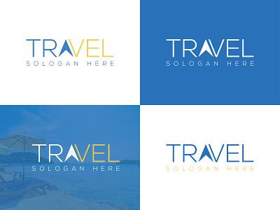 Travel Logo Design design typography logo minimal tours logo maker vacation company logo design corporate letter logo business travel agency travel logo design travel logo travel branding graphic design logo print item brand identity