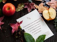 A/X Fall Invitations