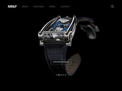 MB&F Landing Pages