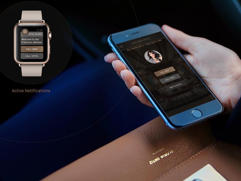 Kaliber - Active  Notifications watch ui watch os appdesign app uidesign ui notifications