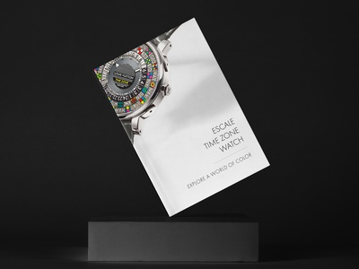 Louis Vuitton - Escale Time Zone louis vuitton typography layout design book booklet editoral editorial design