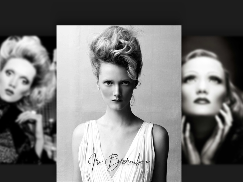 Ira Bezroukova bio website branding design