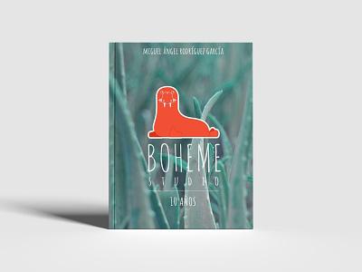 2021 bohemestudio 10 years - Hardcover book art walrus hardcover book brand design graphic design branding illustration logo book cover