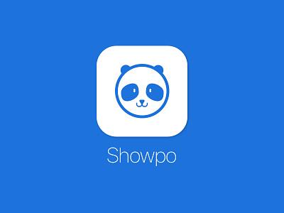 Showpo Logo 2 ios app russian doll matryoshka icon panda branding brand design logo