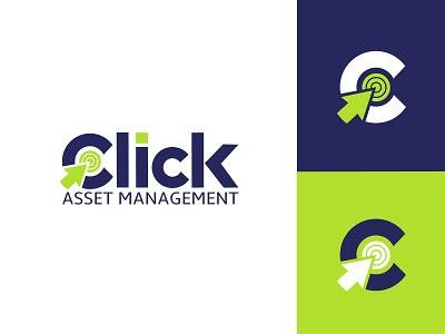 Accounting and financial logo brand logo click logo click accounting  financial accounting logo logo design branding logo professional logo graphic design