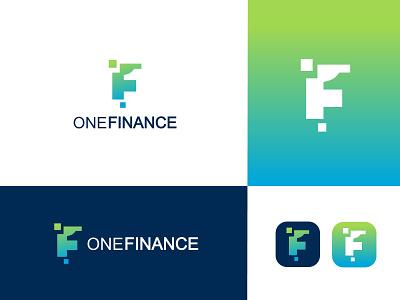 One & letter F logo financial logo f finance logo finance logo f letter logo f logo logo inspiration logo type logo artist logo art logo designs logo  branding professional logo logo logo design graphic design