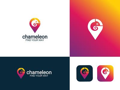 colourful chameleon logo chameleon design chameleon art colourful chameleon chameleon logo logo maker logo artist logo art logo  branding branding professional logo logo design logo graphic design