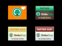 More OmbuShop partner badges