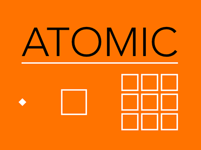 Presentation for a talk on Atomic CSS atomic css keynote geometric
