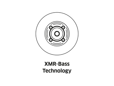 XMR-Bass Technology ( vector icon ) sign line symbol dinamic icons line art bass music illustration linear music icon vector tech bass xmr