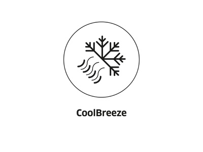 CoolBreeze ( vector icon ) engineering cold tech refresh snow icons line art drawing snowflake lineart illustration cooler vector icon line breeze cool