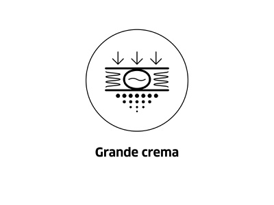 Grande crema  ( vector icon ) technology brew roasting tech line vector icons coffee shop symbol line art drawing crema grande illustration coffee bean icon coffee