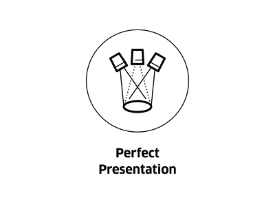 Perfect Presentation ( vector icon ) monochrome lighting illustration smart home line art icons smarthome symbol light icon line vector presentation perfect