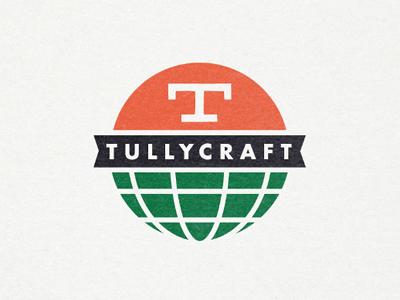 Tullycraft globe logo ppaer