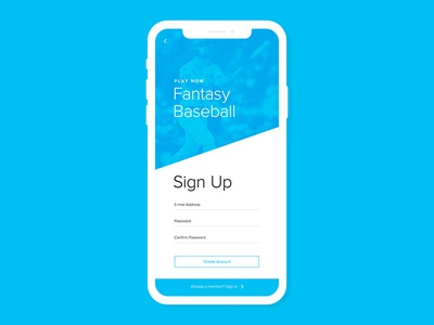 Fantasy Baseball // Sign Up